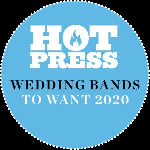 wedding bands ireland with saxophone