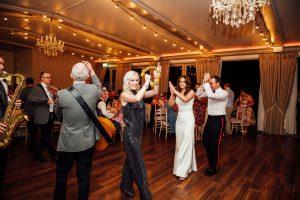 brass wedding bands ireland