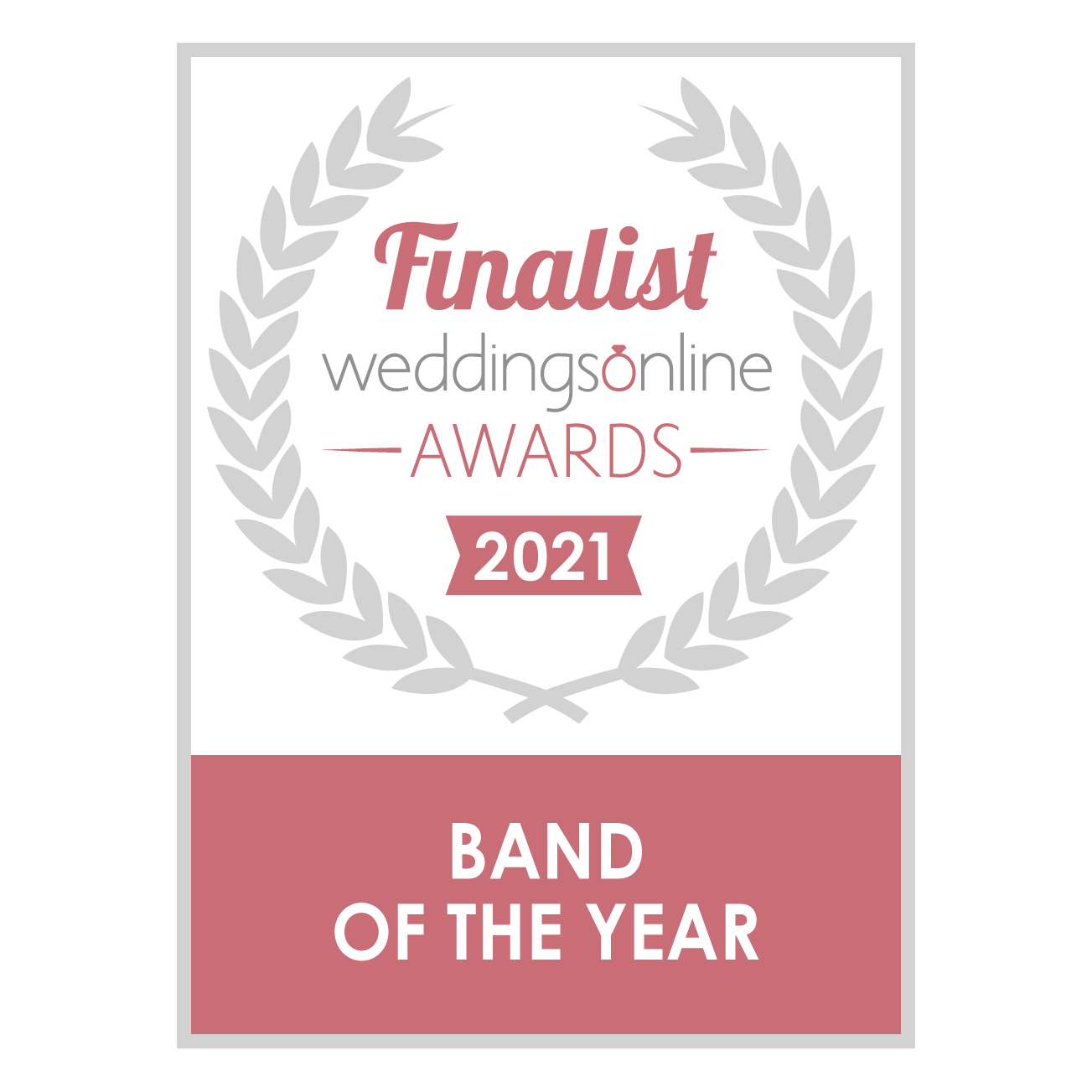 wedding band of the year award